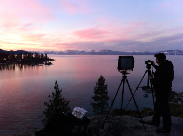 workshop sunrise, Lake Tahoe